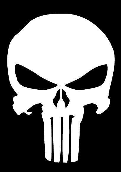 Punisher Skull Clipart Clipground