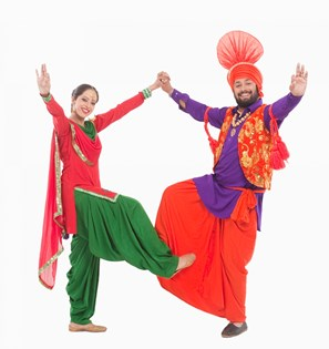 Punjabi girl clipart.