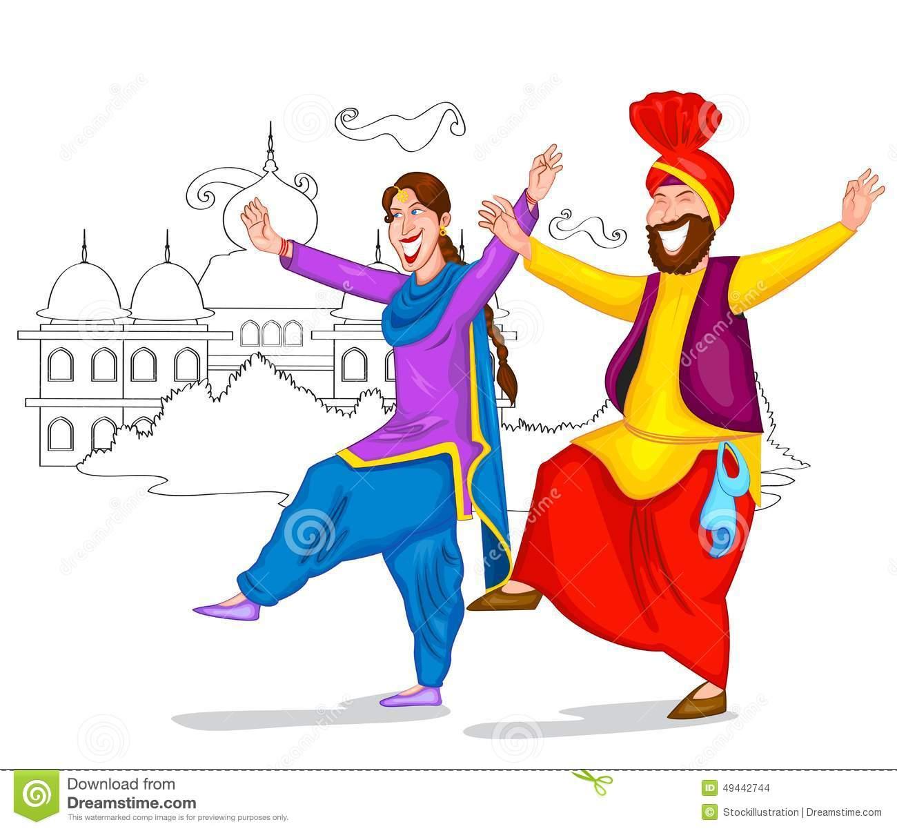 Punjabi Stock Illustrations.