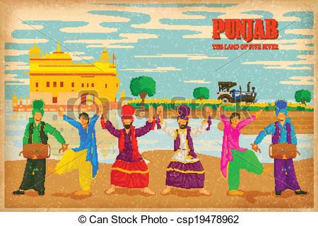 Punjabi Illustrations and Clip Art. 302 Punjabi royalty free.