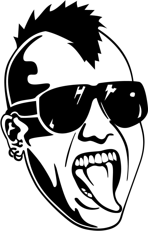 Punk 20clipart.