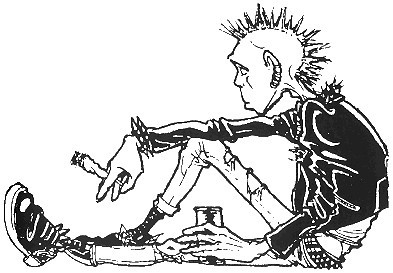 Punk Clipart.