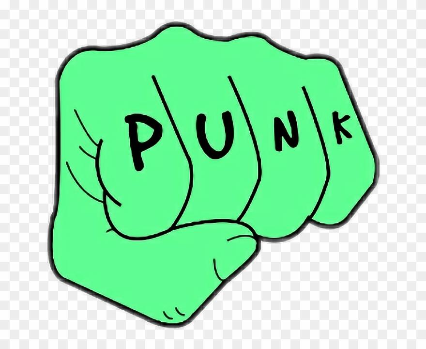 Sticker Punk Rock Png Clipart (#1927190).