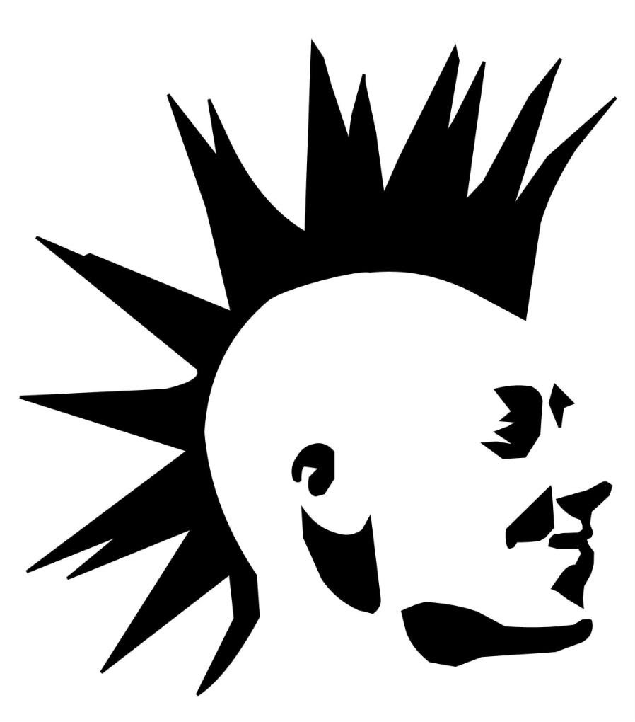 Punk Silhouette at GetDrawings.com.