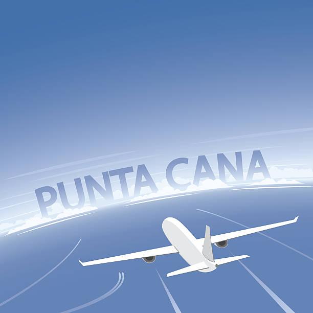 Punta Cana Dominican Republic Clip Art, Vector Images.