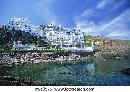 Stock Image of Casa Pueblo Hotel is next to Uruguayan painter.