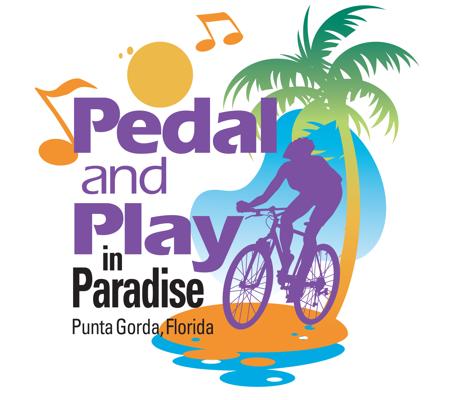 Pedal and Play in Paradise 2017.