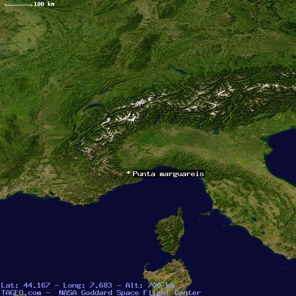 PUNTA MARGUAREIS ITALY (GENERAL) ITALY Geography Population Map.