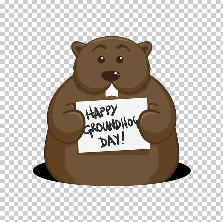 Bear Groundhog Day Punxsutawney Phil PNG, Clipart, 2.