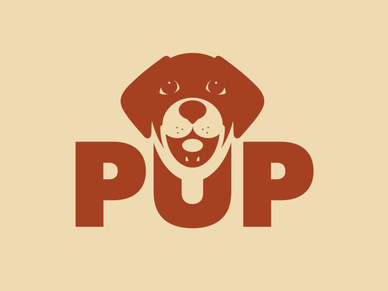 PUP Logo by Mike Hosier on Dribbble.