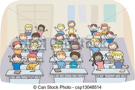 Classroom cartoons Clipart and Stock Illustrations. 5,586.