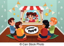 Puppet show Stock Illustrations. 2,256 Puppet show clip art images.