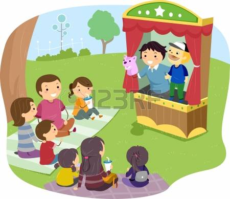 1,745 Puppet Show Stock Vector Illustration And Royalty Free.