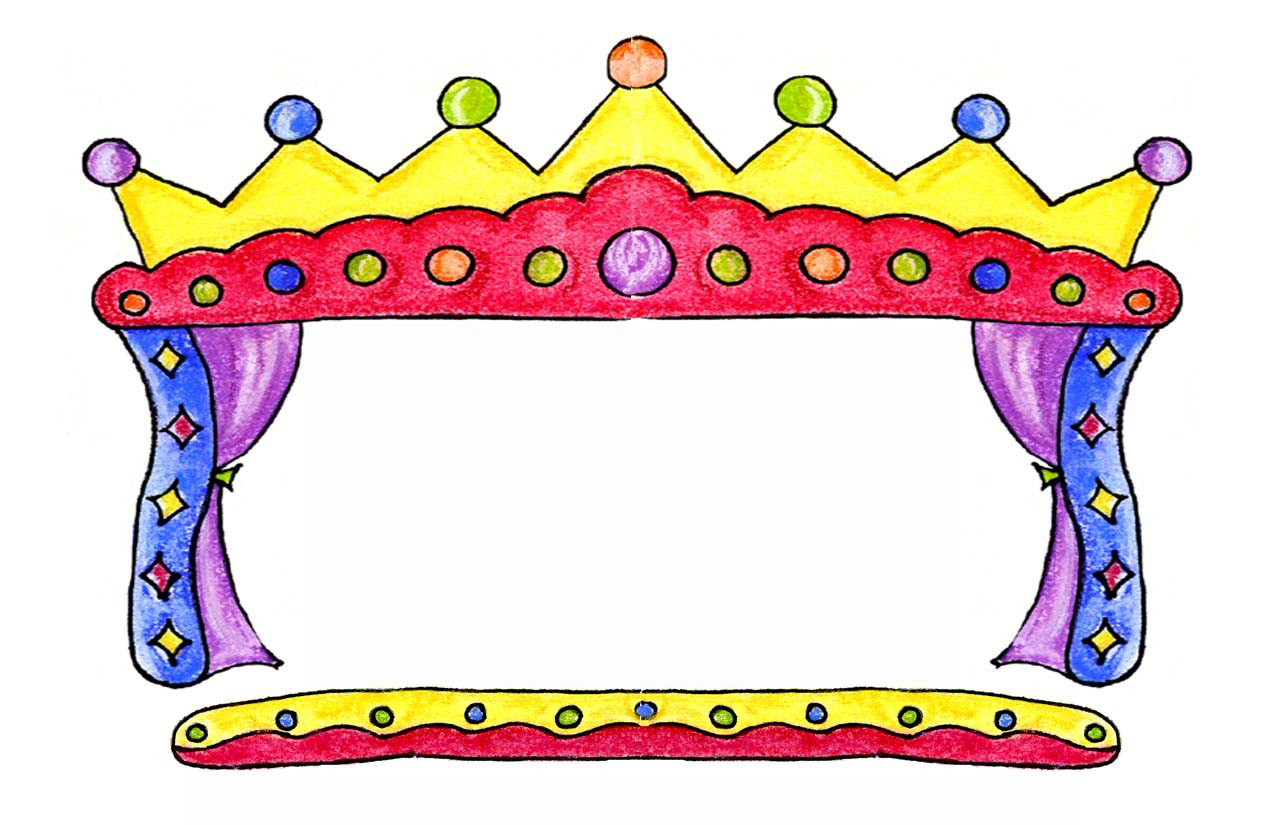 Puppet Show Animated Clipart.