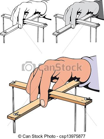 Vectors Illustration of puppeteer hand.