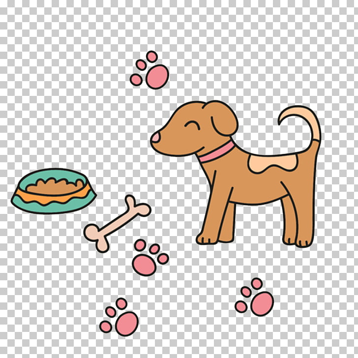 Puppy Dog breed , Puppy bones PNG clipart.