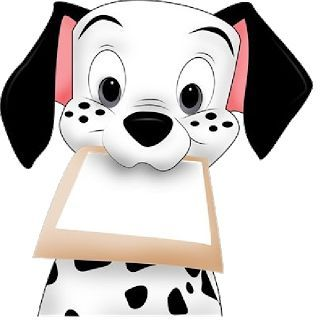 Dalmation Clipart puppy chow 2.