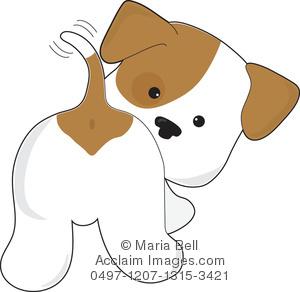 Cute Puppy Clipart.