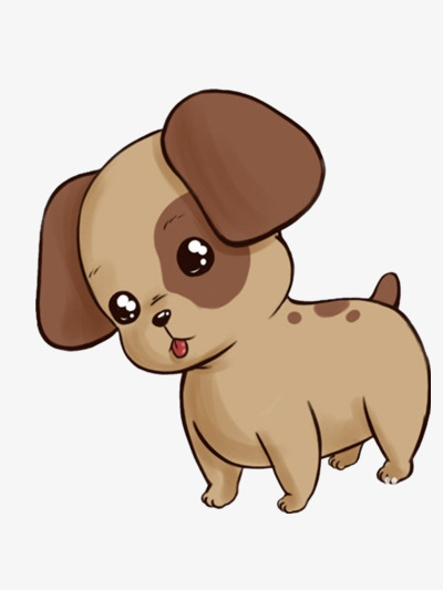 Cute puppy clipart 6 » Clipart Station.