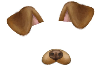 How to snapchat dog ears.