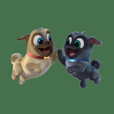 Puppy Dog Pals transparent PNG images.