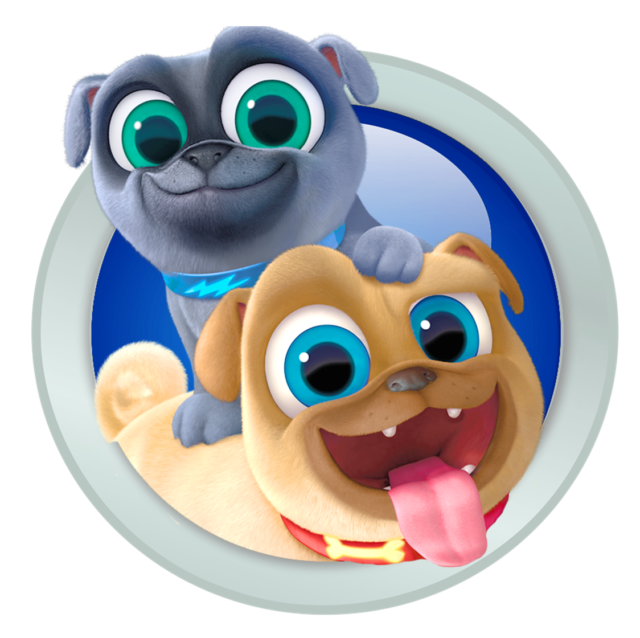 Puppy Dog Pals Bingo and Rolly Iron on Transfer 5\