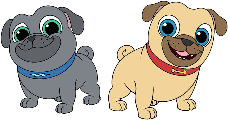 Puppy Dog Pals Clip Art.