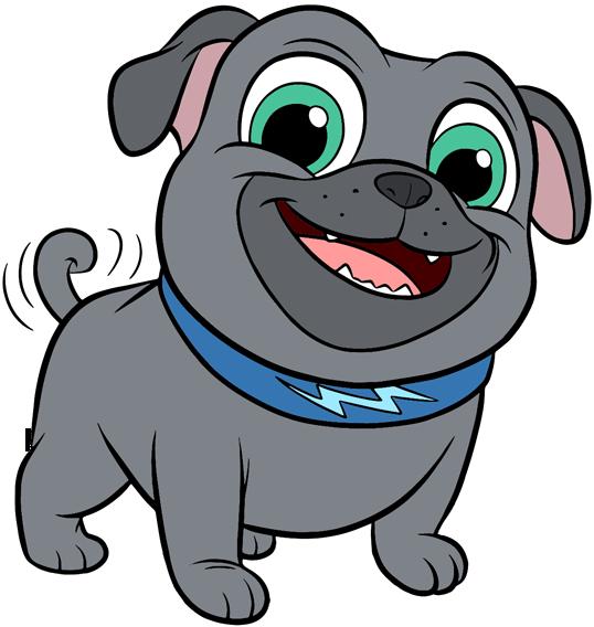 Puppy Dog Pals Clip Art.