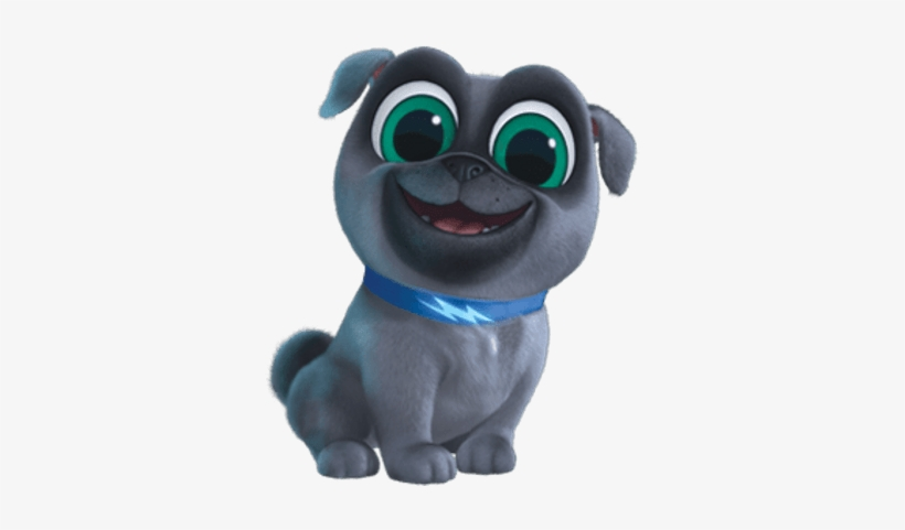 Puppy Dog Pals Bingo Smiling.