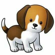 Cute Dog Clipart.