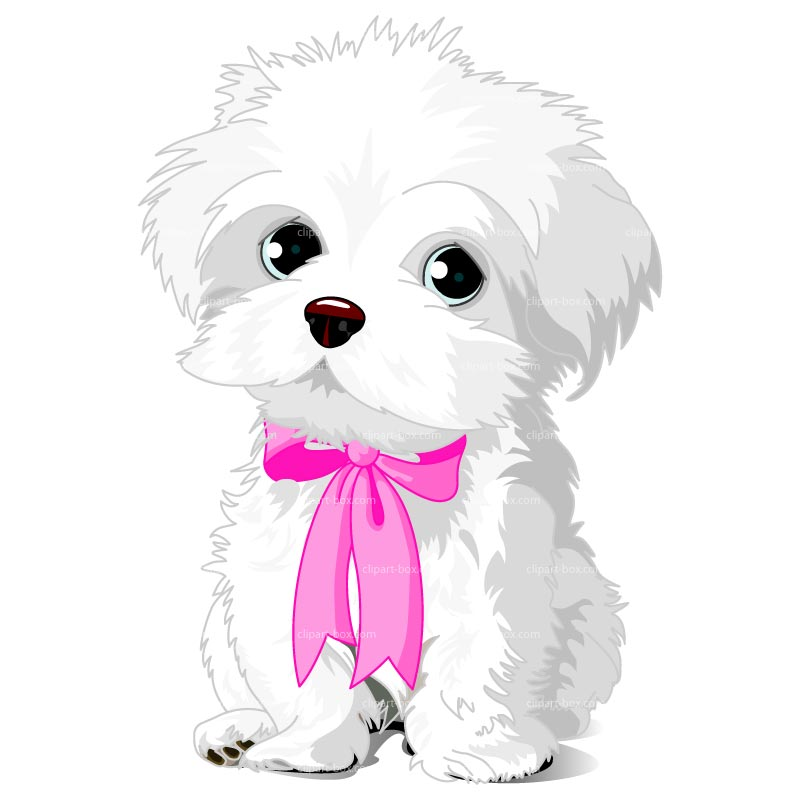 Cute puppy dog clipart collection.