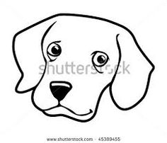 834 Dog Face free clipart.
