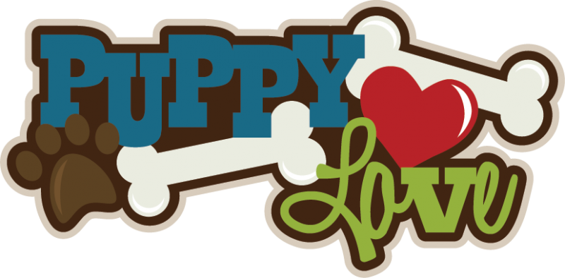 Puppy Love Clipart.