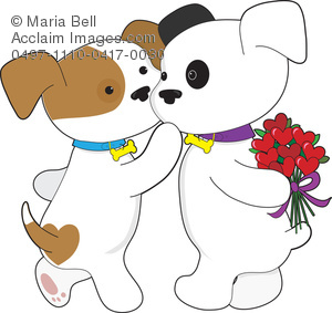 Puppy Love Clipart Image.