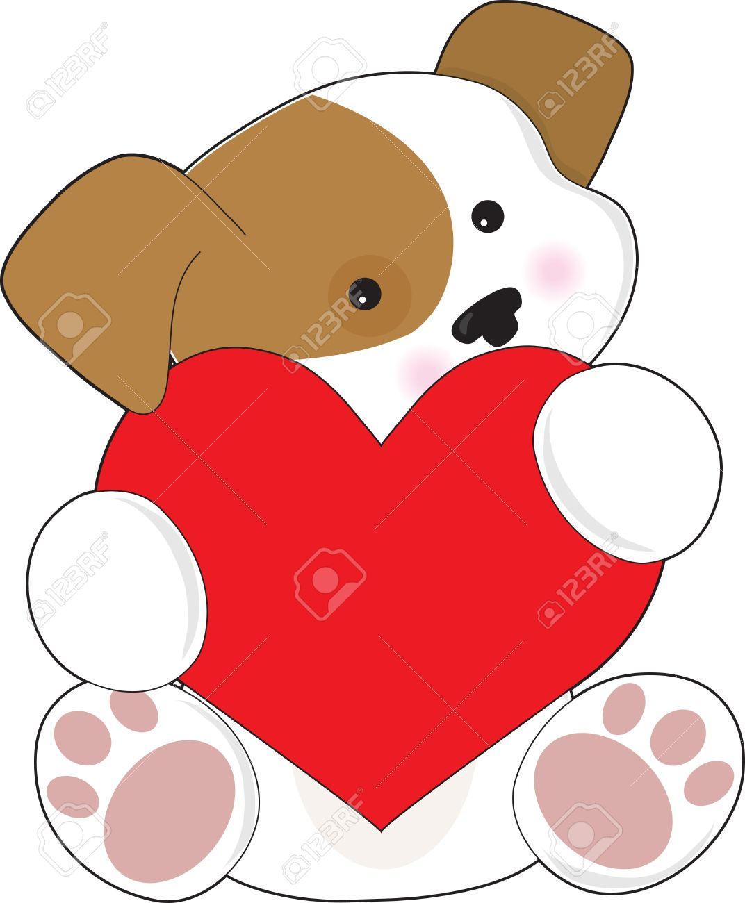 7,481 Puppy Love Stock Vector Illustration And Royalty Free Puppy.