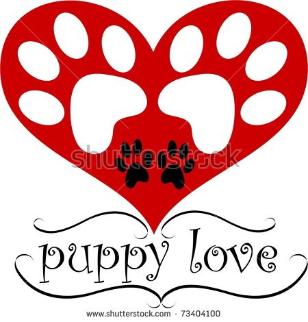 Puppy Love Stock Images, Royalty.