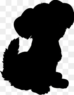 Puppy Silhouette Clip Art at GetDrawings.com.