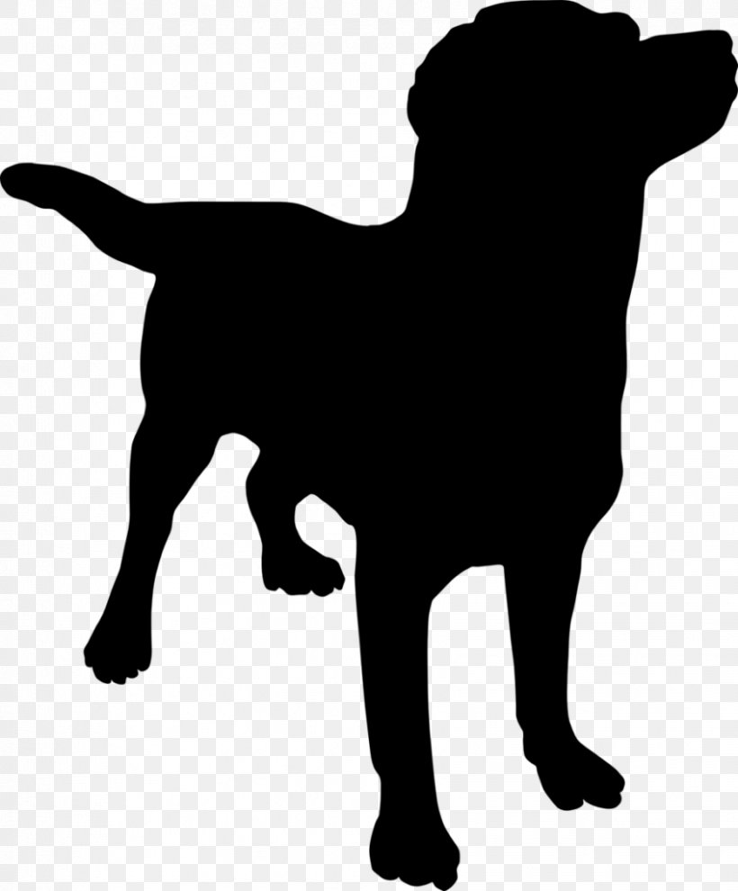 Dog Puppy Silhouette Clip Art, PNG, 848x1024px, Dog, Black.