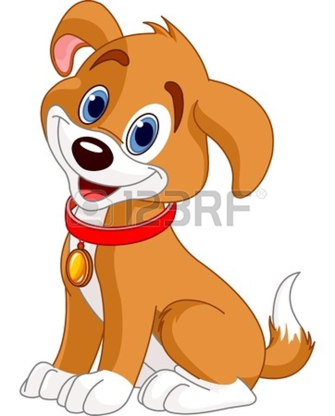 Puppy dog clip art.