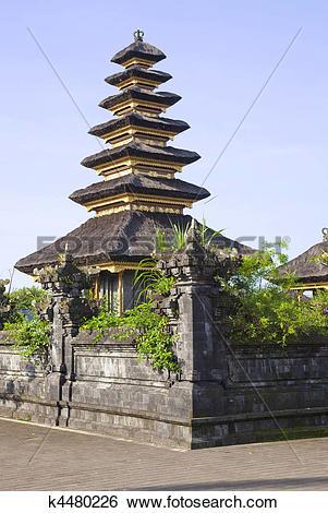 Stock Images of Pura Basukian Puseh Jagat, Besakih, Bali.