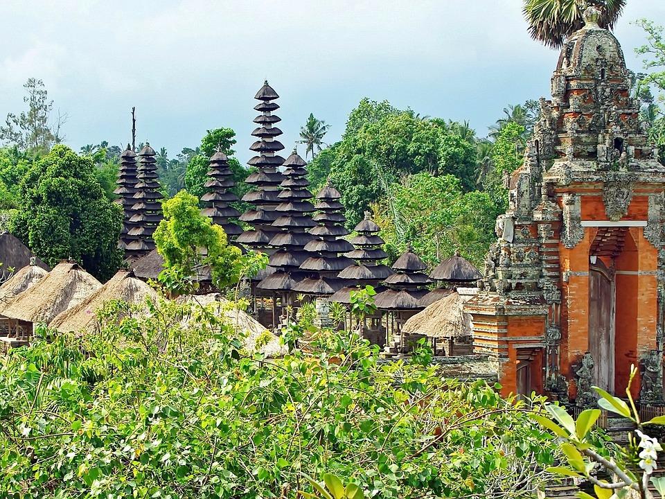 Indonesia, Architecture, Buildings.