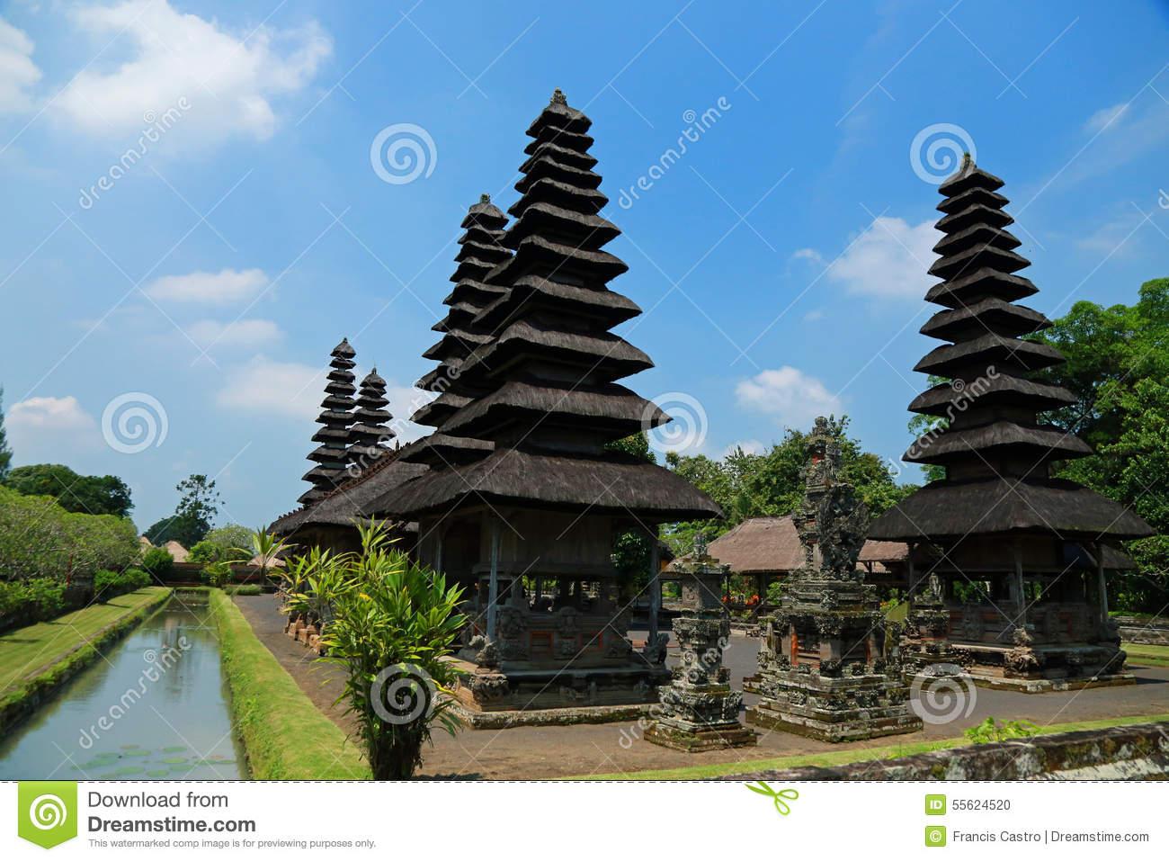 Royal Family Temple Of Mengwi Pura Taman Ayun In Bali, Indonesia.