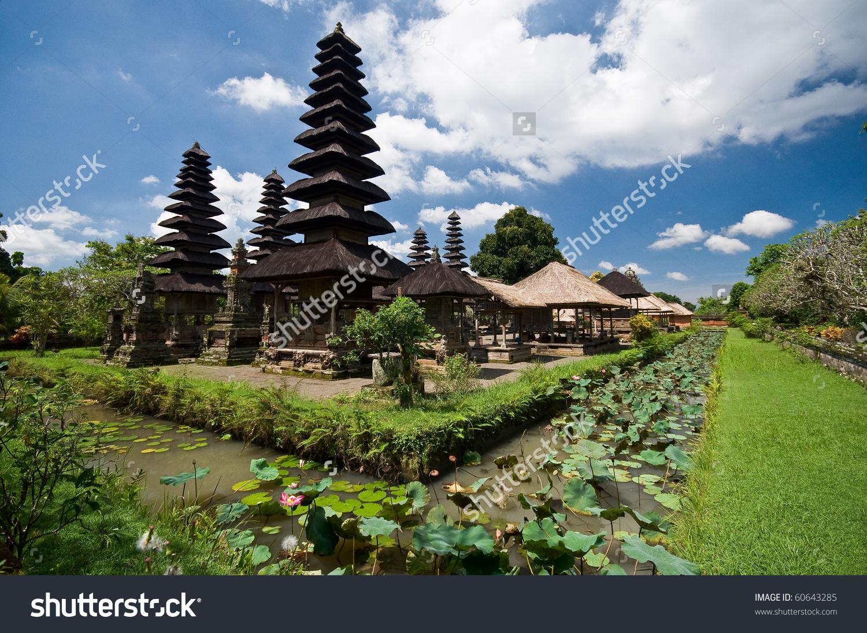 Pura Taman Ayunmengwibaliindonesia Stock Photo 60643285.
