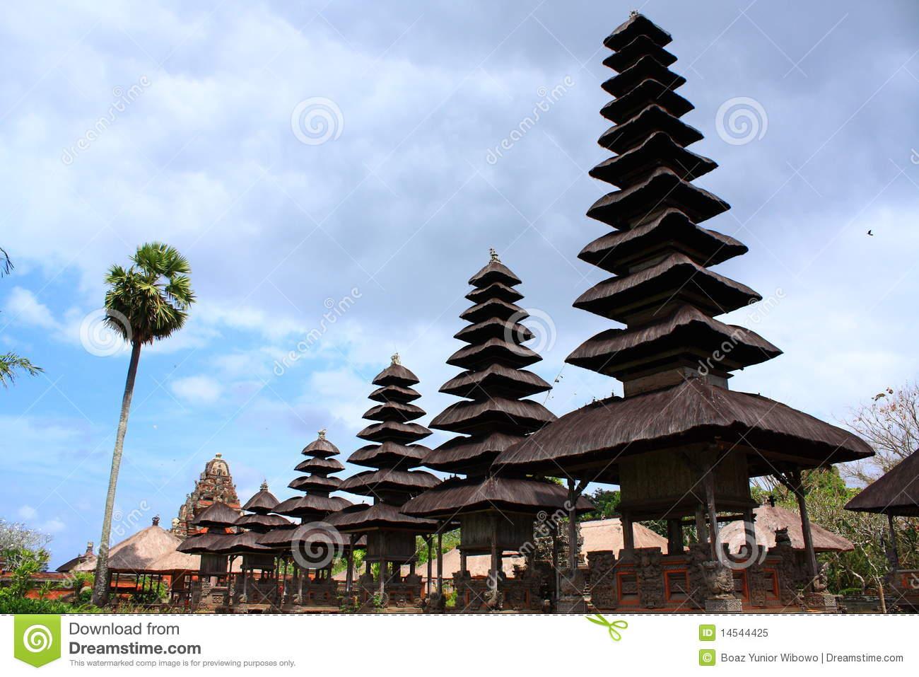 Pura Taman Ayun, Bali, Indonesia Royalty Free Stock Photo.