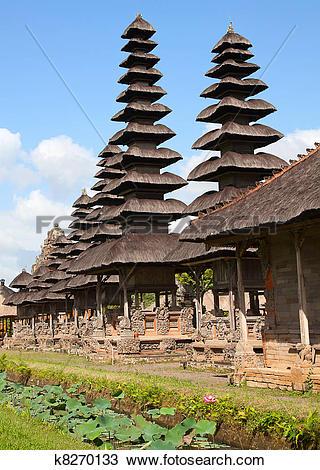Stock Photo of Pura Taman Ayun k8270133.