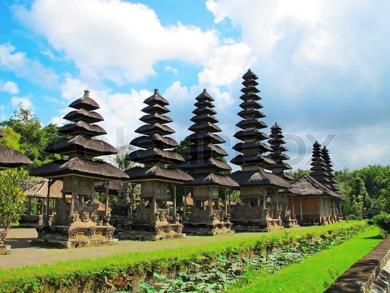 Pura Taman Ayun near Mengwi, Bali, Indonesia..