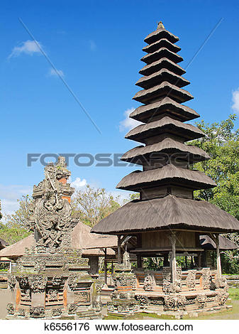 Stock Images of Pura Taman Ayun k6556176.