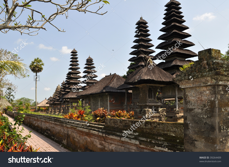 A Hinduism Taman Ayun Temple, Bali, Indonesia Stock Photo 39264409.