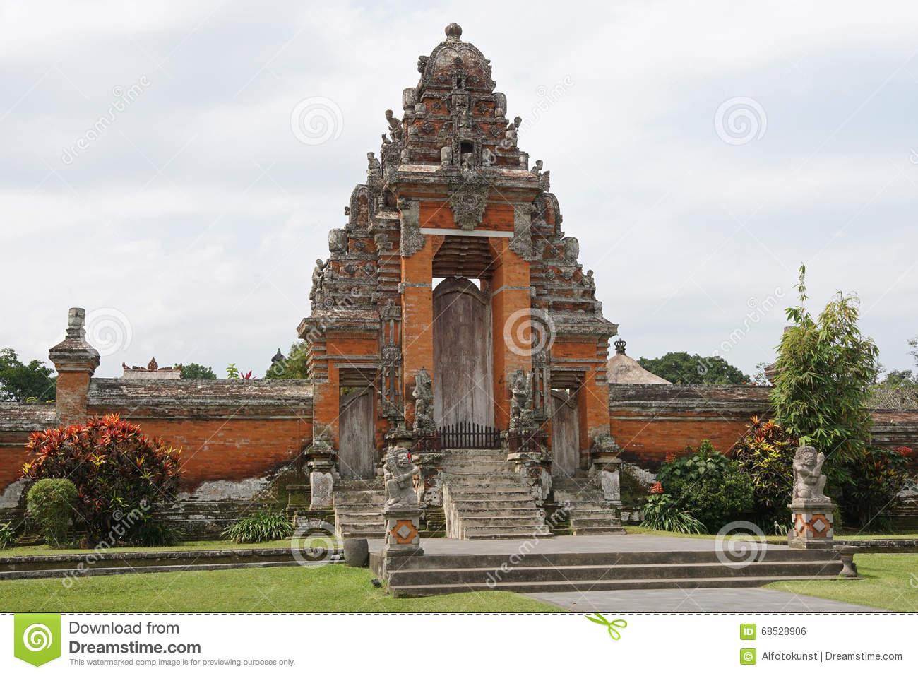 Pura Taman Ayun, Mengwi, Bali, Indonesia Editorial Photo.