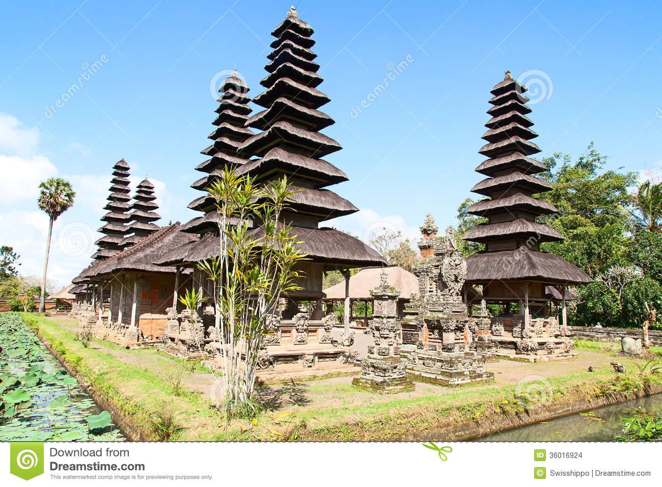 Pura Taman Ayun Stock Images.